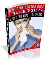 How To Win Your War Against Allergies