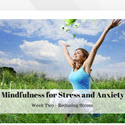 4 Week Meditation Course For Healing Depression, Anxiety and Stress