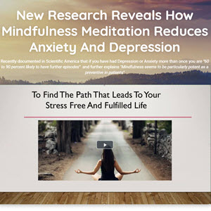 Meditation Course For Healing Depression, Anxiety and Stress